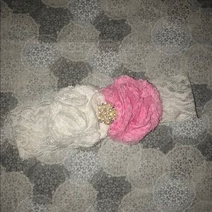 Other - 4for$25🔥Beautiful LuxuryGirl Lace Flower Headband